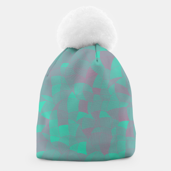 Geometric Shapes Fragments Pattern 2 tq Beanie thumbnail image