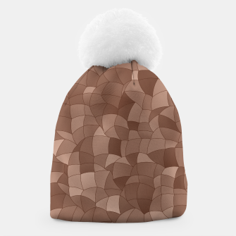 Geometric Shapes Fragments Pattern 2 cr Beanie miniature