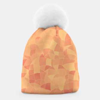 Geometric Shapes Fragments Pattern 2 po Beanie miniature