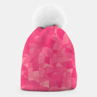 Geometric Shapes Fragments Pattern 2 pp Beanie Bild der Miniatur