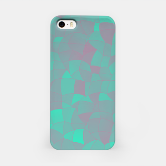 Geometric Shapes Fragments Pattern 2 tq iPhone Case Bild der Miniatur