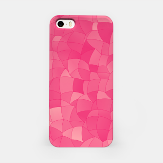 Geometric Shapes Fragments Pattern 2 pp iPhone Case Bild der Miniatur