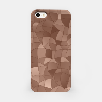 Geometric Shapes Fragments Pattern 2 cr iPhone Case thumbnail image