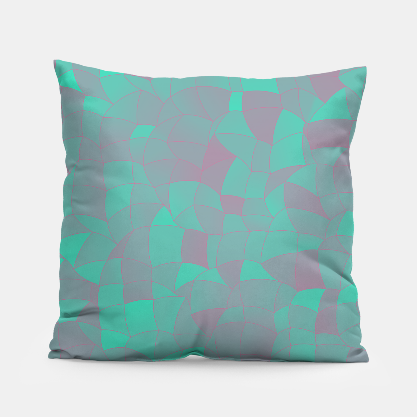 Image of Geometric Shapes Fragments Pattern 2 tq Pillow - Live Heroes