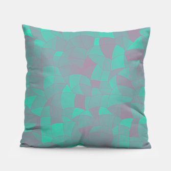 Geometric Shapes Fragments Pattern 2 tq Pillow Bild der Miniatur