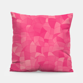 Geometric Shapes Fragments Pattern 2 pp Pillow Bild der Miniatur