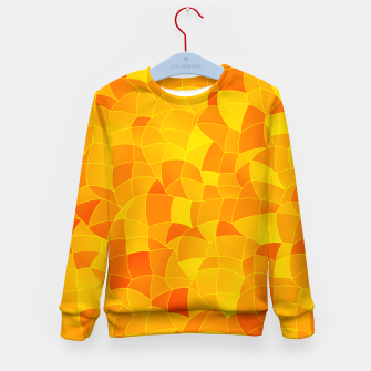 Geometric Shapes Fragments Pattern 2 yri Kid's sweater miniature