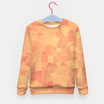 Geometric Shapes Fragments Pattern 2 po Kid's sweater miniature