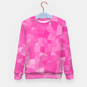 Geometric Shapes Fragments Pattern 2 mag Kid's sweater miniature