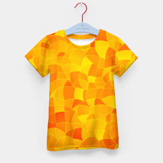 Geometric Shapes Fragments Pattern 2 yri Kid's t-shirt miniature