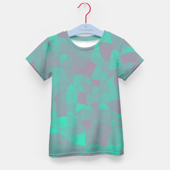 Geometric Shapes Fragments Pattern 2 tq Kid's t-shirt thumbnail image