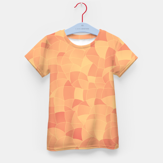 Geometric Shapes Fragments Pattern 2 po Kid's t-shirt miniature