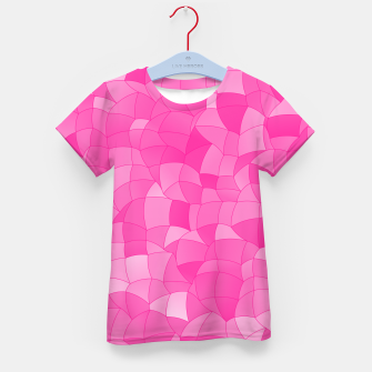 Geometric Shapes Fragments Pattern 2 mag Kid's t-shirt miniature