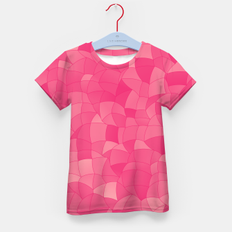 Geometric Shapes Fragments Pattern 2 pp Kid's t-shirt Bild der Miniatur