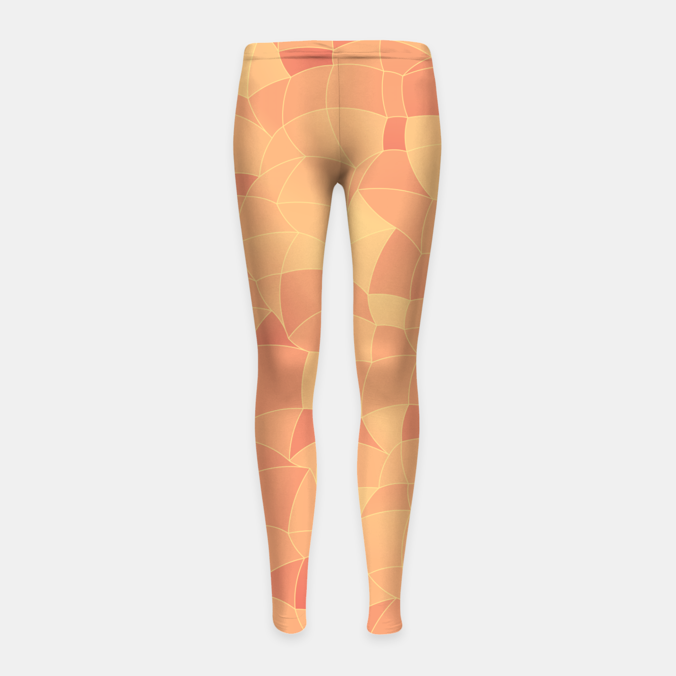 Image of Geometric Shapes Fragments Pattern 2 po Girl's leggings - Live Heroes
