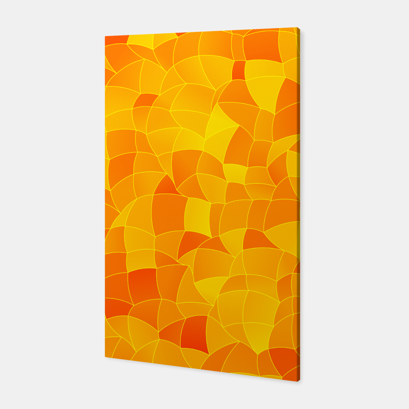 Image of Geometric Shapes Fragments Pattern 2 yri Canvas - Live Heroes