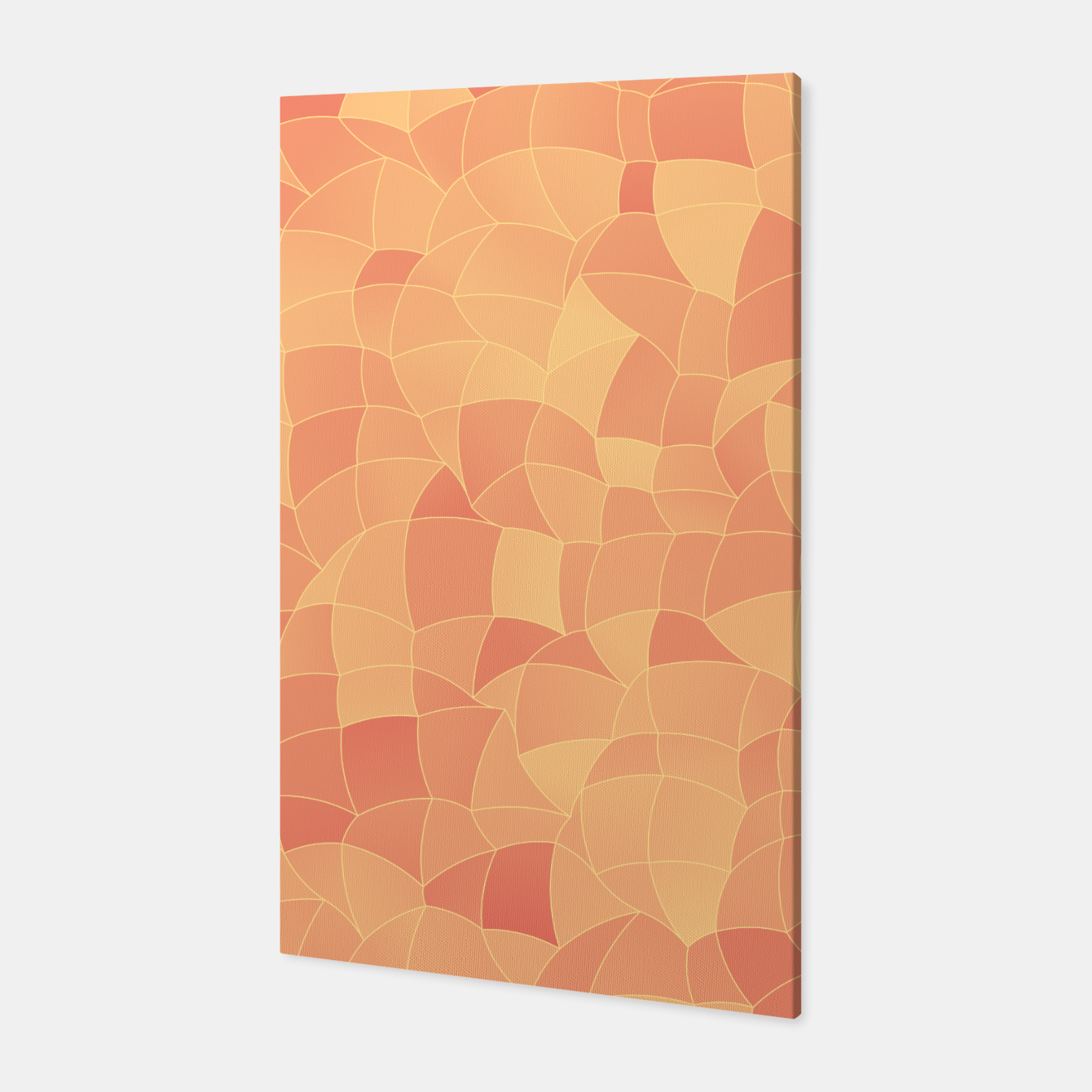 Image of Geometric Shapes Fragments Pattern 2 po Canvas - Live Heroes