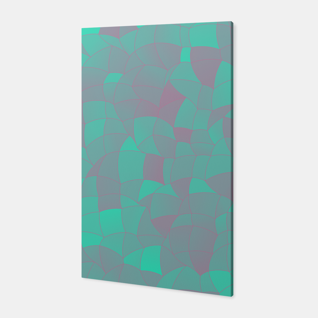 Image of Geometric Shapes Fragments Pattern 2 tq Canvas - Live Heroes