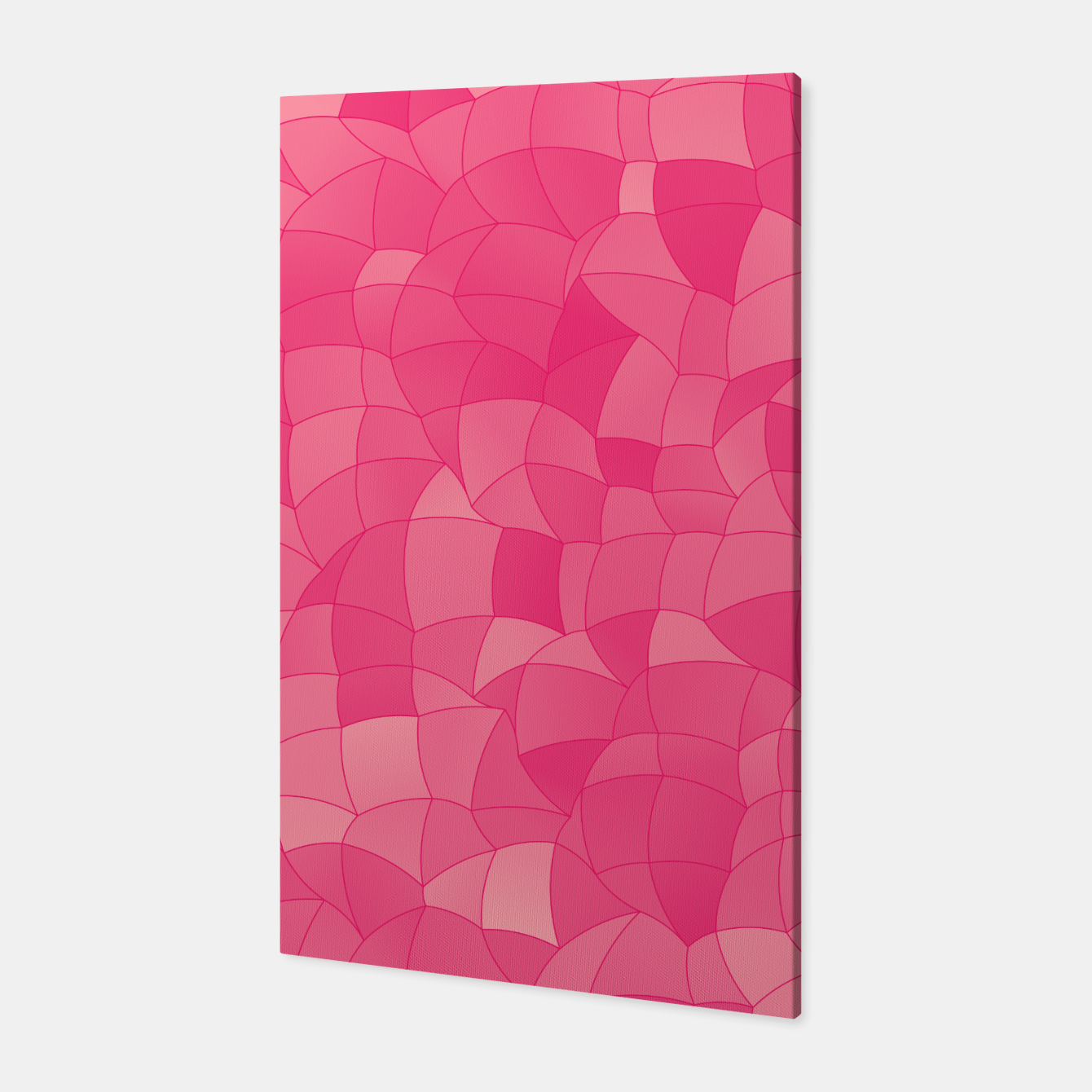 Image de Geometric Shapes Fragments Pattern 2 pp Canvas - Live Heroes