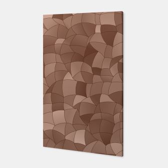 Miniatur Geometric Shapes Fragments Pattern 2 cr Canvas, Live Heroes