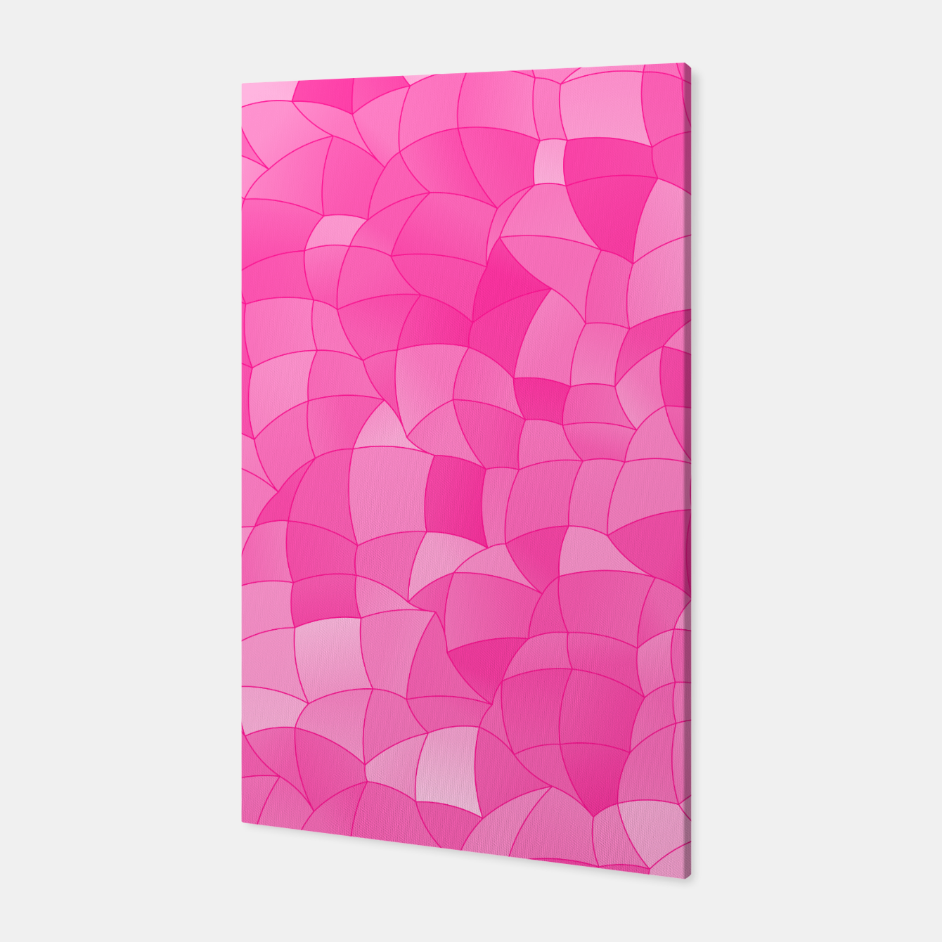 Image of Geometric Shapes Fragments Pattern 2 mag Canvas - Live Heroes