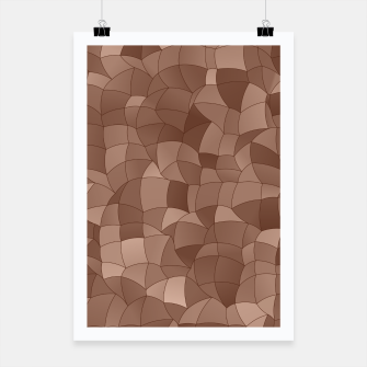 Miniatur Geometric Shapes Fragments Pattern 2 cr Poster, Live Heroes