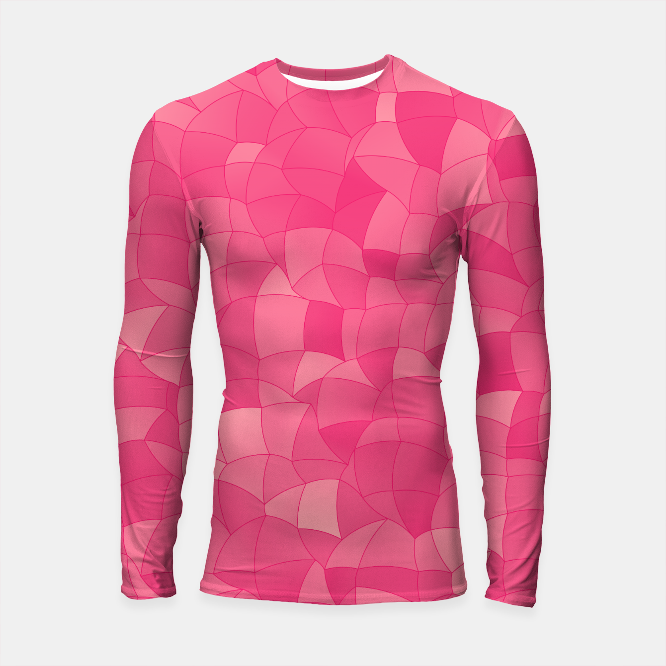 Image of Geometric Shapes Fragments Pattern 2 pp Longsleeve rashguard  - Live Heroes