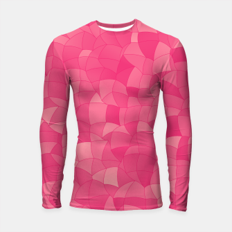 Geometric Shapes Fragments Pattern 2 pp Longsleeve rashguard  miniature