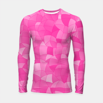 Geometric Shapes Fragments Pattern 2 mag Longsleeve rashguard  miniature