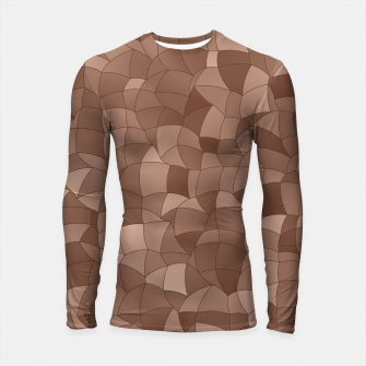 Miniatur Geometric Shapes Fragments Pattern 2 cr Longsleeve rashguard , Live Heroes