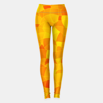 Geometric Shapes Fragments Pattern 2 yri Leggings miniature