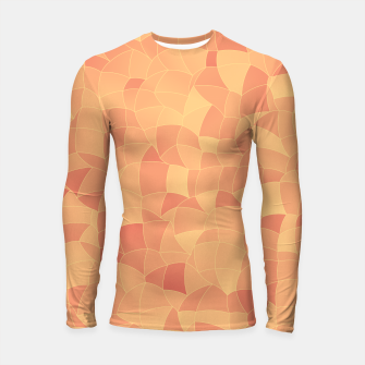 Geometric Shapes Fragments Pattern 2 po Longsleeve rashguard  miniature