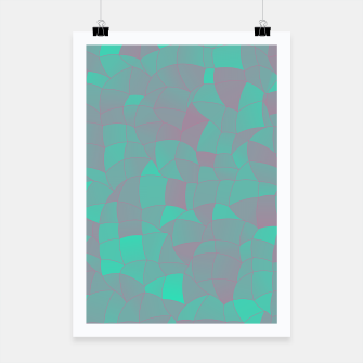 Thumbnail image of Geometric Shapes Fragments Pattern 2 tq Poster, Live Heroes