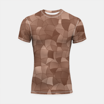 Miniatur Geometric Shapes Fragments Pattern 2 cr Shortsleeve rashguard, Live Heroes