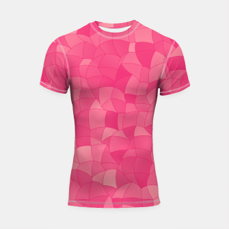 Thumbnail image of Geometric Shapes Fragments Pattern 2 pp Shortsleeve rashguard, Live Heroes