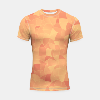 Thumbnail image of Geometric Shapes Fragments Pattern 2 po Shortsleeve rashguard, Live Heroes