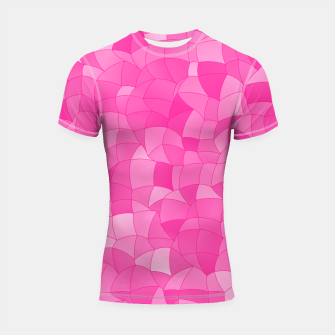 Thumbnail image of Geometric Shapes Fragments Pattern 2 mag Shortsleeve rashguard, Live Heroes