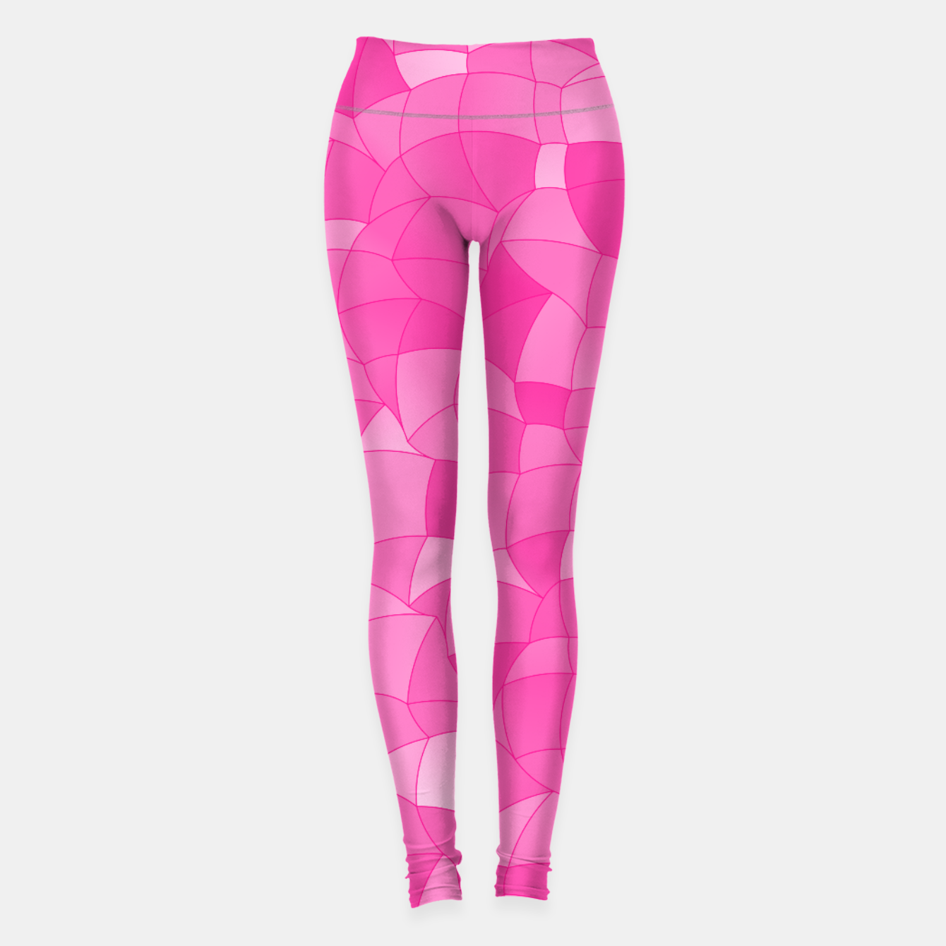 Image of Geometric Shapes Fragments Pattern 2 mag Leggings - Live Heroes