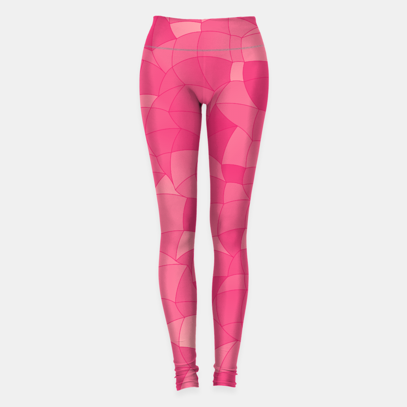 Image of Geometric Shapes Fragments Pattern 2 pp Leggings - Live Heroes