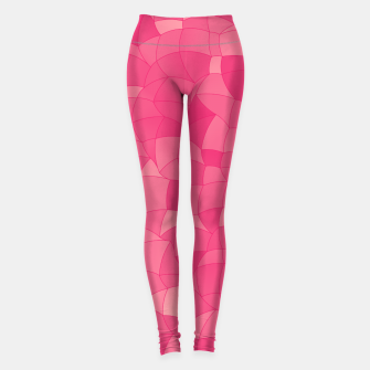 Thumbnail image of Geometric Shapes Fragments Pattern 2 pp Leggings, Live Heroes