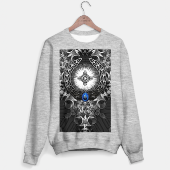 Thumbnail image of MechTron One Graphic Design Abstract Art Sweater regular, Live Heroes