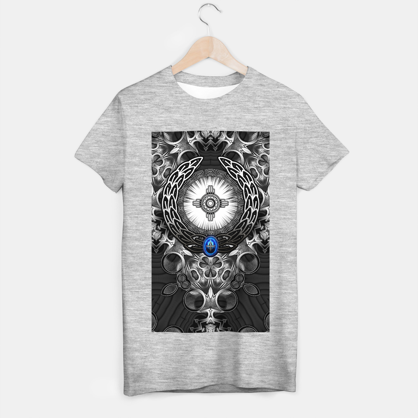 Image of MechTron One Graphic Design Abstract Art T-shirt regular - Live Heroes