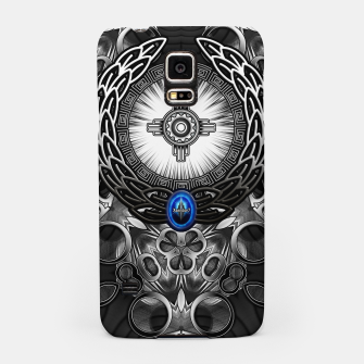 Thumbnail image of MechTron One Graphic Design Abstract Art Samsung Case, Live Heroes