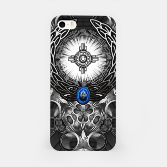 Thumbnail image of MechTron One Graphic Design Abstract Art iPhone Case, Live Heroes