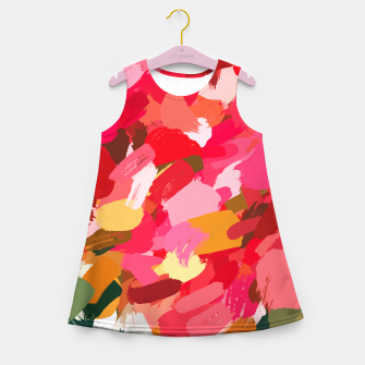 Miniatur Amara Girl's summer dress, Live Heroes
