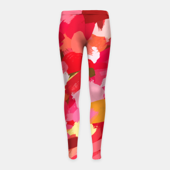 Thumbnail image of Amara Girl's leggings, Live Heroes