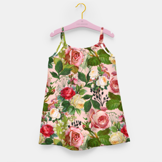 Thumbnail image of Vintage Botanicalia Girl's dress, Live Heroes