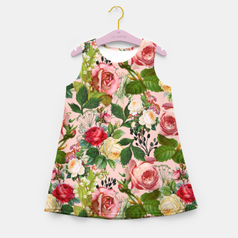 Thumbnail image of Vintage Botanicalia Girl's summer dress, Live Heroes