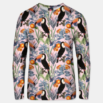 Thumbnail image of Tucan Garden Unisex sweater, Live Heroes