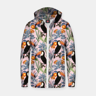 Thumbnail image of Tucan Garden Zip up hoodie, Live Heroes